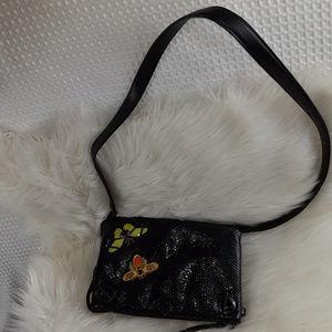 Victoria's Secret Women's Snake Skin Crossbody Bag